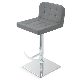 Adjustable Height Swivel Bar Stool by soh..