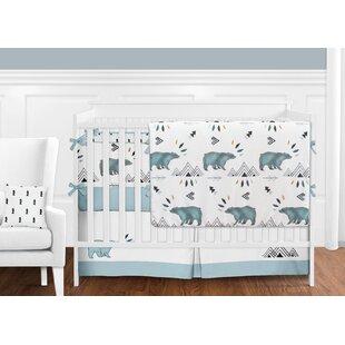 Top Reviews Bear Mountain 9 Piece Crib Bedding Set (Set of 9) BySweet Jojo Designs