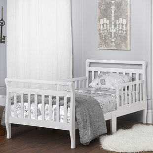 Purchase Toddler Sleigh Bed with Safety Rails by Dream On Me Reviews (2019) & Buyer's Guide