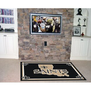 NFL - New Orleans Saints 4x6 Rug ByFANMATS