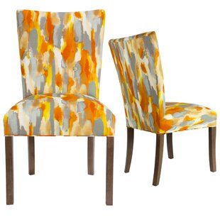 Garavan Fan Back Upholstered Dining Chair (Set of 2) Latitude Run