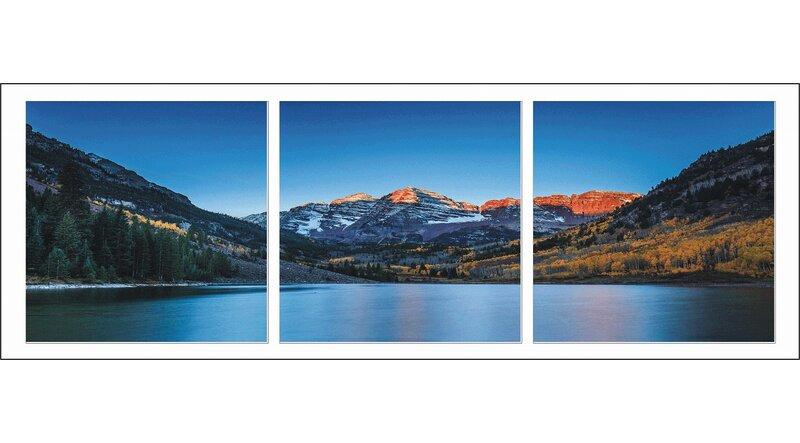 latitude run denver colorado photographic print multi piece image on wrapped canvas wayfair wayfair com