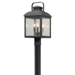 Reviews Koffi Outdoor 3-Light Lantern Head By Gracie Oaks