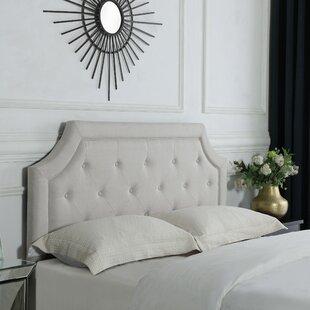 Doane Linen Queen Upholstered Panel Headboard