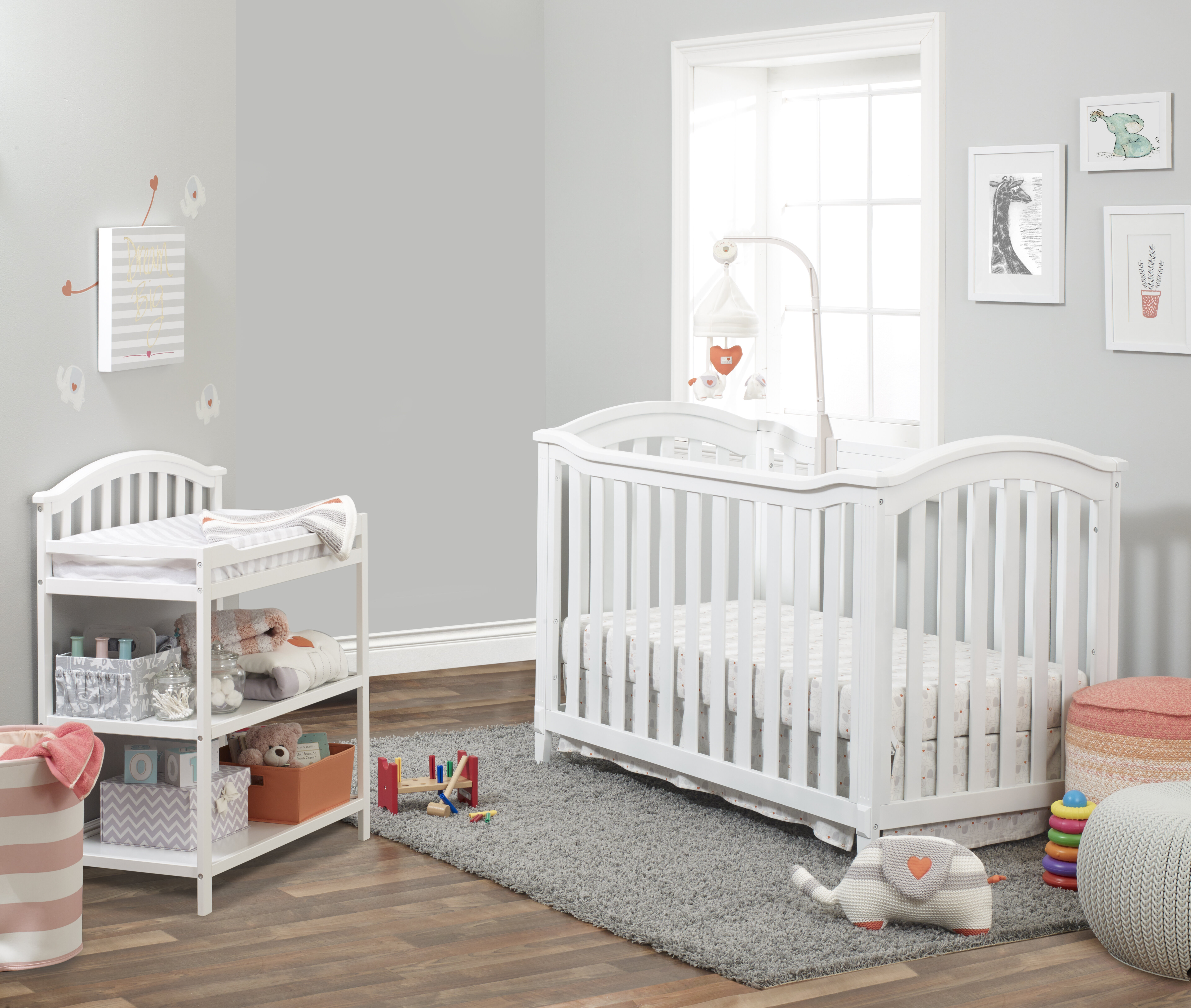 65ad1e0054 Sorelle Berkley Classic 4-in-1 Convertible 2 Piece Crib Set   Reviews