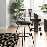 Stalvey Adjustable Height Bar Stool (Set of 2) by Winston Porter