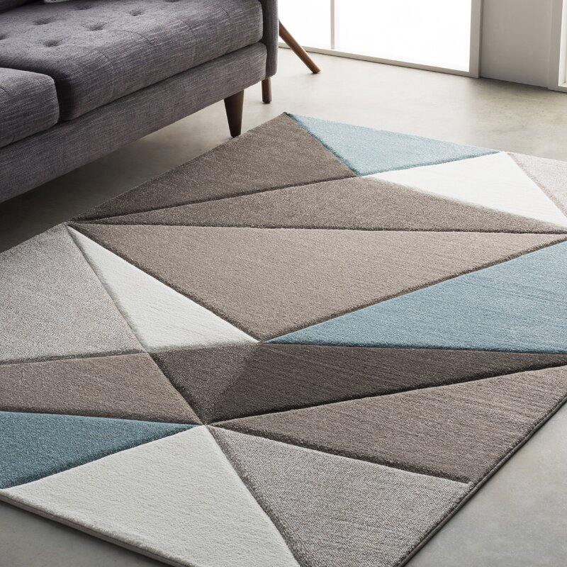 Cheeseman Gray Blue Brown Area Rug Amp Reviews Allmodern