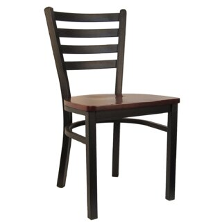 Ladder Solid Wood Dining Chair (Set of 2) by H&D Restaurant Supply, Inc. SKU:AE950706 Shop
