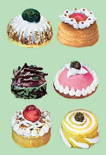 Buyenlarge Baked And Frozen Ice Cream Specialties Graphic Art Wayfair