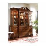 Buckingham Triple Lighted China Cabinet by Jonathan Charles Fine Furniture