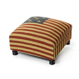 Malad City Patriot Ottoman by August Grove