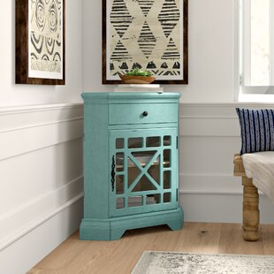 Jaycob Corner 1 Door Accent Cabinet by Mistana