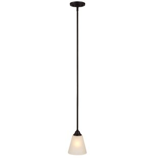 Galveston 1-Light Cone Pendant by Hardware House