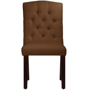 Michigamme Tufted Arched Upholstered Dining Chair Winston Porter