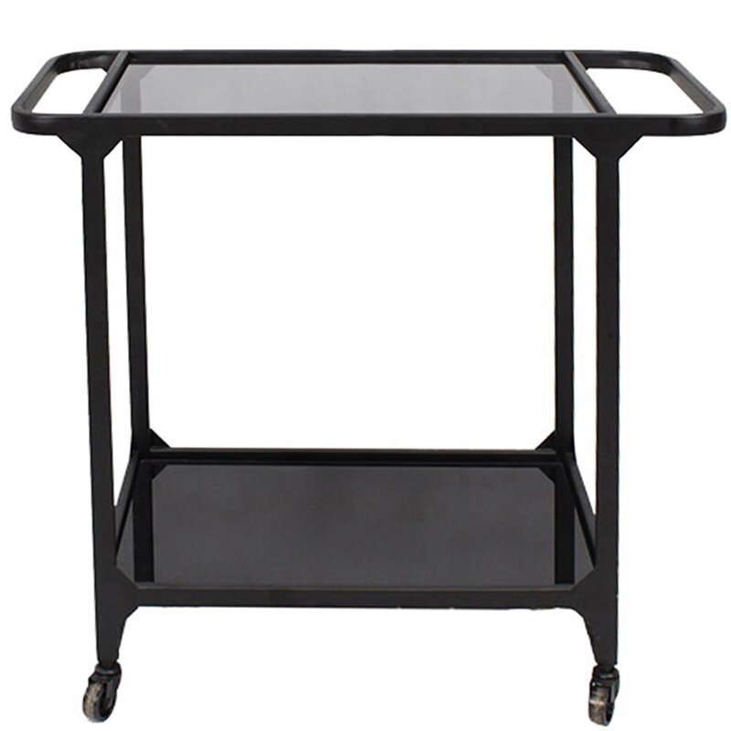 Ebern Designs Muscogee Bar Cart