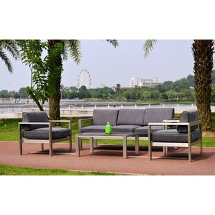 KQ Maui Deluxe 4 Piece Deep Seating Group with Cushion