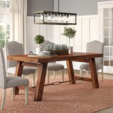 Hardin 5 Piece Solid Wood Dining Set by Loon Peak®