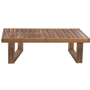 Airell Acacia Coffee Table By Sol 72 Outdoor