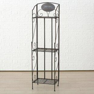 Hartnett 3 Shelf Bistro Iron Baker's Rack by Fleur De Lis Living
