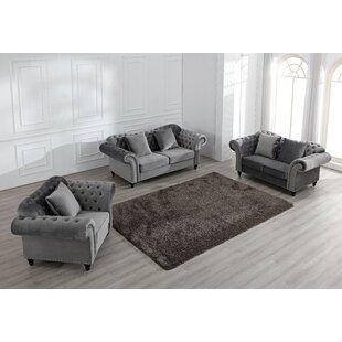 Irven 3 Piece Sofa Set By Canora Grey
