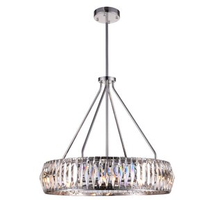 CWI Lighting Squill 8-Light Crystal Chandelier