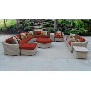 Arora 12 Piece Sectional Seating Group With Cushions By Latitude Run