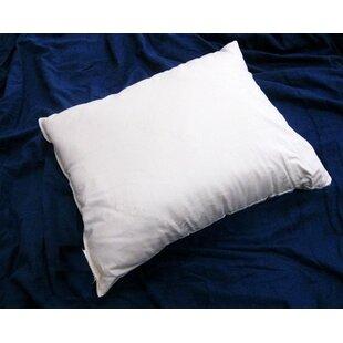 Alwyn Home Genova Organic Medium Cotton Pillow