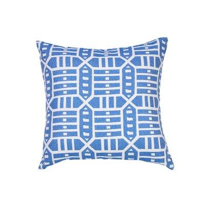 Brayden Studio Daughtery Indoor Outdoor Ikat 18 Throw Pillow Cover Brayden Studio Color Blue Dailymail
