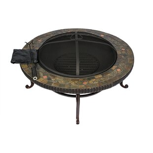 HIO Cast Iron Wood Burning Fire Pit Table