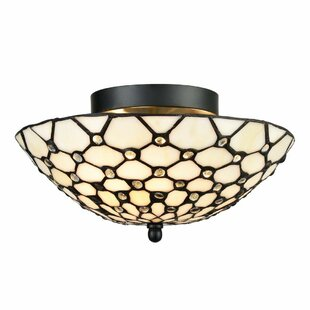 Stjohn 3-Light Semi Flush Mount by Astoria Grand