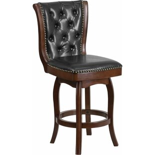 Compare & Buy Rouillard 26'' Swivel Bar Stool by Astoria Grand Reviews (2019) & Buyer's Guide