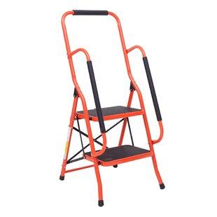 Enjoyable 2 3 4 Step Ladder Portable Folding Foldable Step Stool Ladder 330Lbs Capacity In 2 Step Evergreenethics Interior Chair Design Evergreenethicsorg