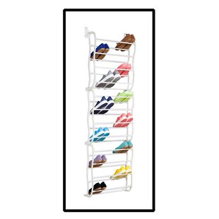 Inexpensive 12 Tier 36 Pair Overdoor Shoe Organizer By Rebrilliant