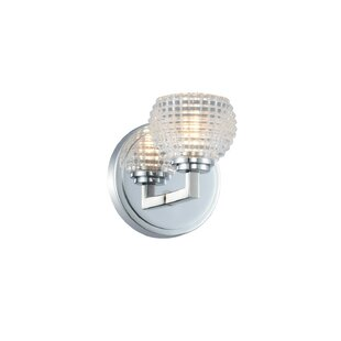 Quayle Casual Luxury 1-Light Bath Sconce by House of Hampton