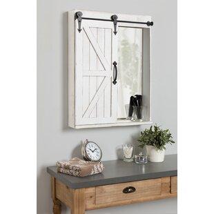 Banbury 2175 W x 2775 H Solid Wood Wall Mounted Bathroom Cabinet by Gracie Oaks