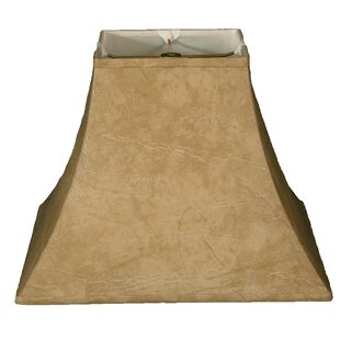 Best Choices 14 Faux Leather Bell Lamp Shade By Alcott Hill