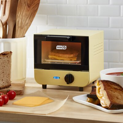 DASH Dash Mini Toaster Oven  Finish: Yellow