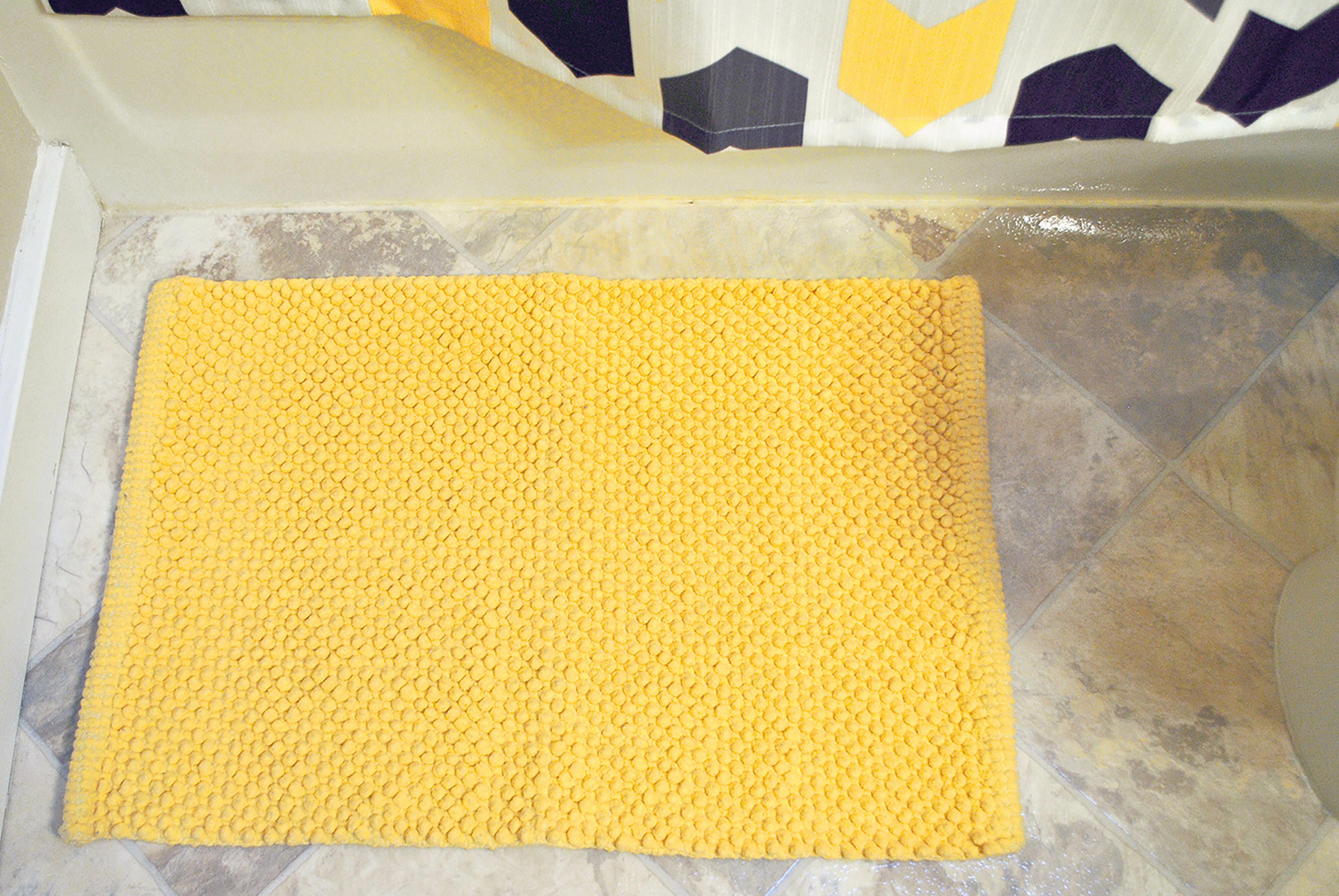 Yellow Gold Bath Rugs Mats Bathrooms You Ll Love In 2021 Wayfair