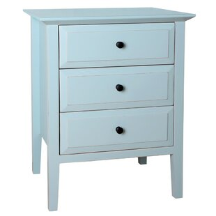 Carpen 3 Drawer Nightstand