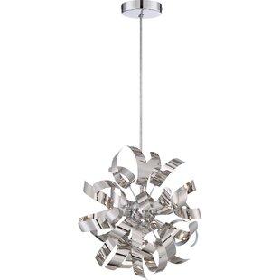 Copeland 3-Light Globe pendant by Orren Ellis