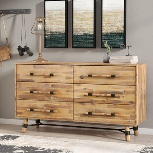 Mistana Treyton 6 Drawer Double Dresser