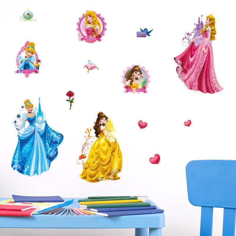 Carlie 3D Disney Princess Wall Sticker