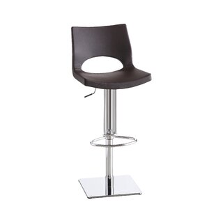 Alana Adjustable Height Swivel Bar Stool Orren Ellis