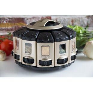 12 Jar Spice Jar & Rack Set
