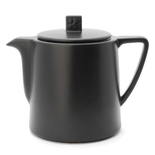 1000 ml Teekanne Lund aus Keramik   Küche und Esszimmer > Kaffee und Tee   Schwarz   Porzellan   Bredemeijer