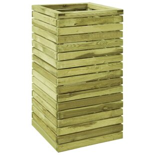 Lesly Wooden Planter Box By Freeport Park