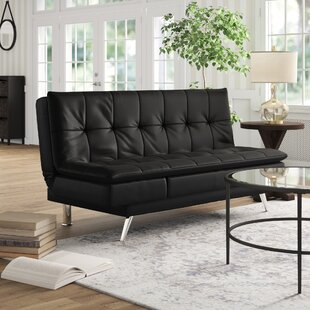 Best Reviews Black Leather Sleeper Sofa by Latitude Run Reviews (2019) & Buyer's Guide