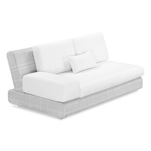 Sumba Loveseat with Cushions by 100 Essentials