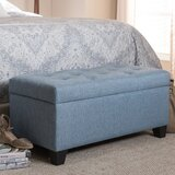 Salyers 36 Storage Tufted Rectangle Storage Ottoman by Charlton Home