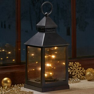 Taylah Black Battery Powered Lantern By Sol 72 Outdoor